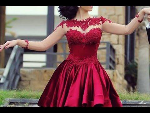 بالصور فساتين قصيرة للسهرات , احدث صيحات الفاشون لفساتين السهرة 3141 7