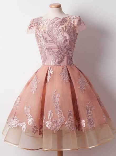 بالصور فساتين قصيرة للسهرات , احدث صيحات الفاشون لفساتين السهرة 3141 8