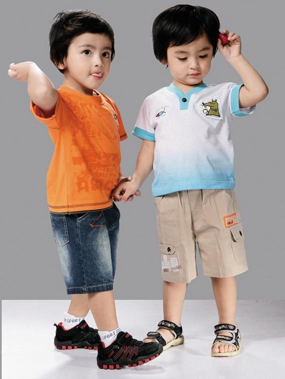 بالصور ملابس اطفال اولاد , احدث ازياء اولادي لشياكة وراحة طفلك في الصيف 585 7