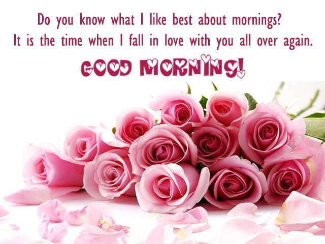 صورة كلمات صباح الخير للحبيب , صباح رومانسي بكل الوان الحب وكلماته 462 6