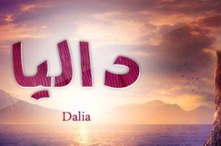 صورة اسم داليا بالصور , جمال وروعة اسم داليا