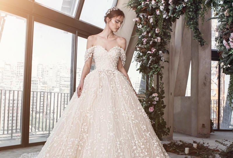 صورة صور فساتين عرس , موضه 2019لفساتين العروس بالصور