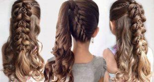 صور صور تساريح شعر , احدث تسريحات الشعر للاطفال بالصور للبنات