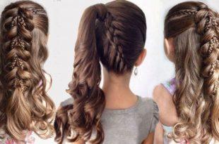 صورة صور تساريح شعر , احدث تسريحات الشعر للاطفال بالصور للبنات