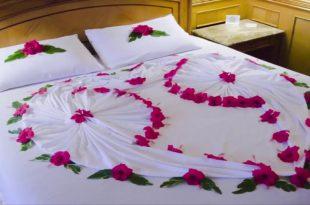 صورة افكار لتزيين غرفة النوم للمتزوجين بالصور , تزيين غرفه نومك بطريقه رومانسيه بالصور
